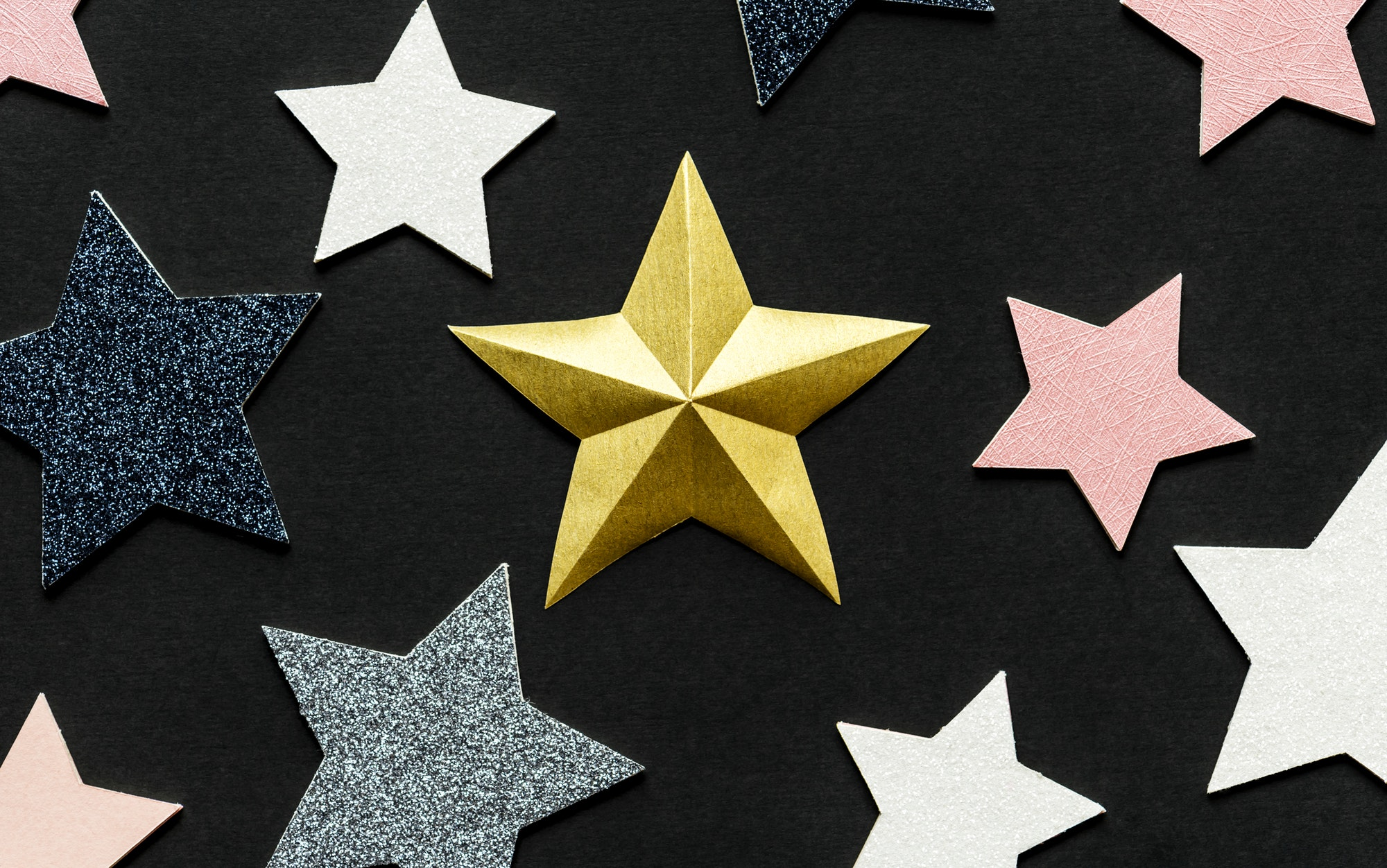 Star decoration background